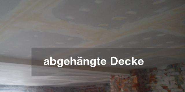Herstellen ein abgehängten Decke auf Metallunterkonstruktion mit Schwingdirektabhänger