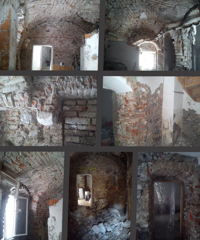 Jakob Ponigl - Kernsanierung eines Altstadthauses - Rückbau