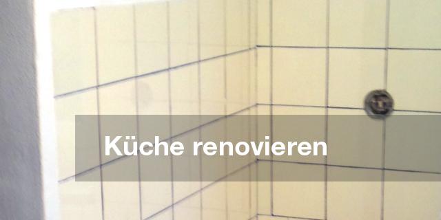 Renovieren einer Küche